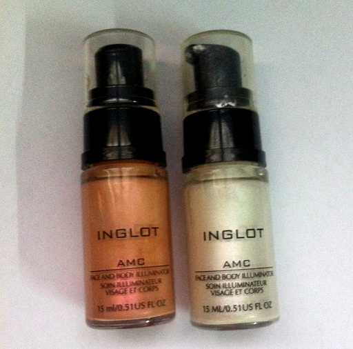 inglot amc face and body illuminator reviews