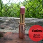 Lakme 9 to 5 Lipstick Candy Closure: Swatches and Review