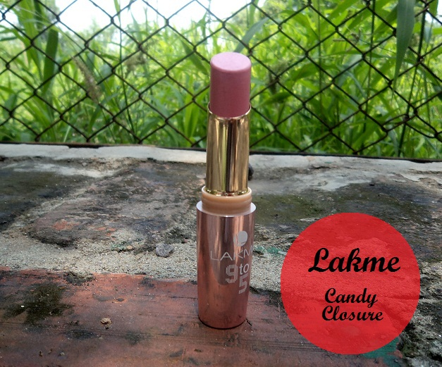 lakme 9 to 5 lipstick candy closure review