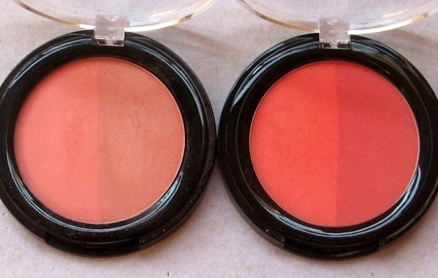 lakme absolute coral peach blush face stylist blush duos reviews india