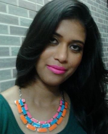 mac candy yum yum lipstick FOTD india