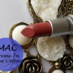 Mac Creme In Your Coffee Lipstick Swatches, Review and FOTD