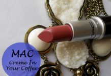 mac creme in your coffee lipstick review
