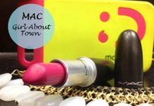 mac girl about town lipstick review