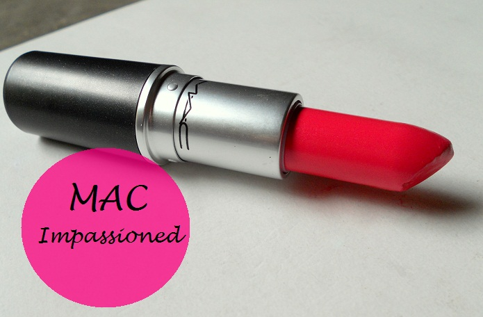 mac impassioned lipstick review blog