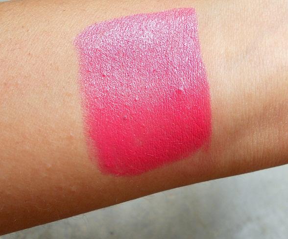 mac impassioned lipstick swatch