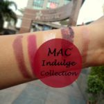 Mac Indulge Collection Swatches: Lipsticks