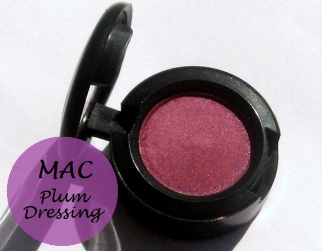 Mac Plum Dressing Eyeshadow: Swatches, Review, EOTD
