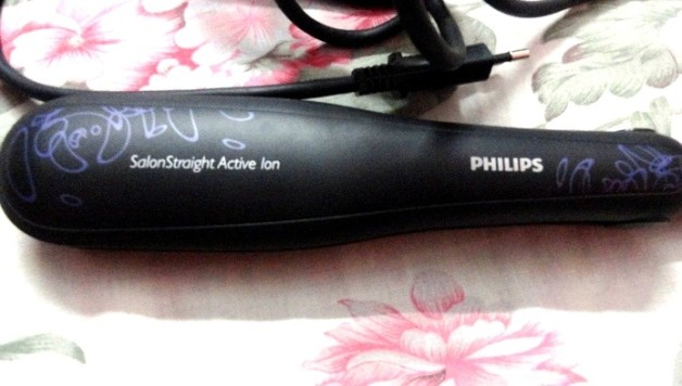 philips salon straight active ion hp8315 hair straightener reviews