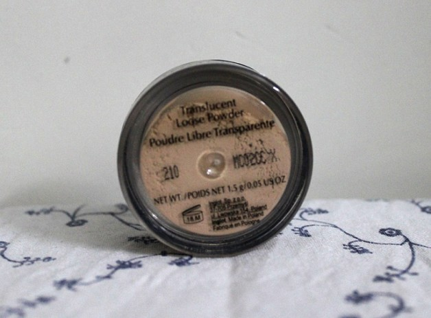 Inglot Translucent Loose Powder Review blog