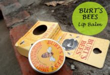 burts bees beeswax lip balm review blog india
