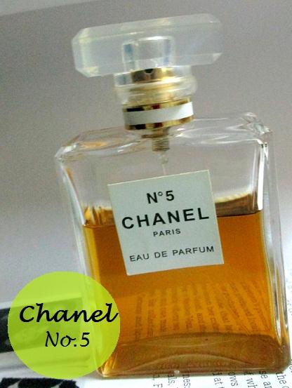 chanel no.5 eau de parfum bottle
