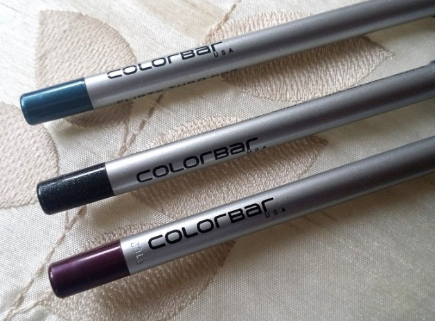 colorbar i glide pencils review flirty turq prunella coal mine