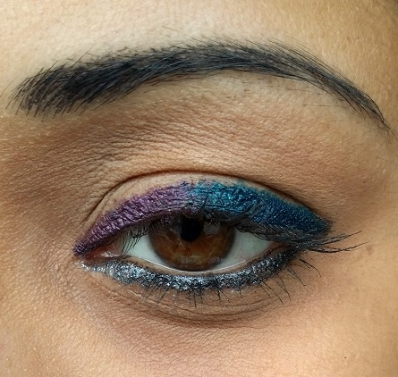 colorbar i glide pencils flirty turq prunella coal mine swatch eye makeup