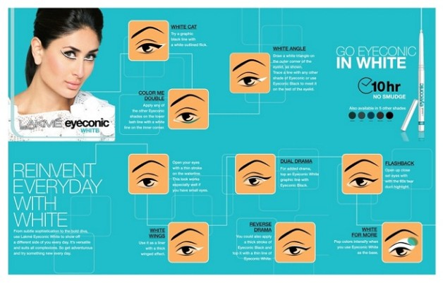 lakme eyeconic look card