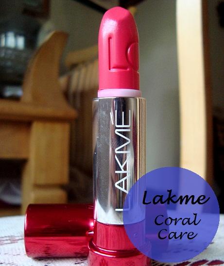 lakme lip love lipstick coral care review india