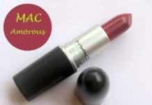 mac amorous lipstick review blog