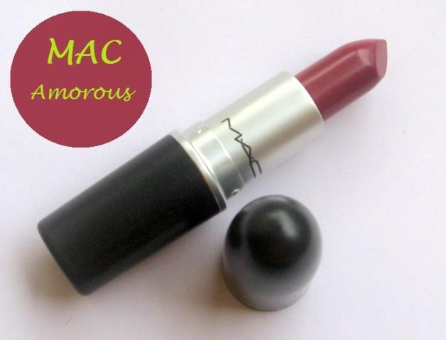 mac amorous lipstick review blog