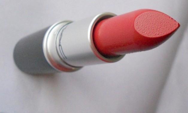 mac brick o la lipstick review india