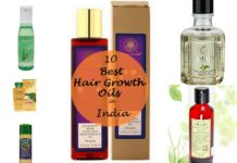 10 best hair growth oils available in india