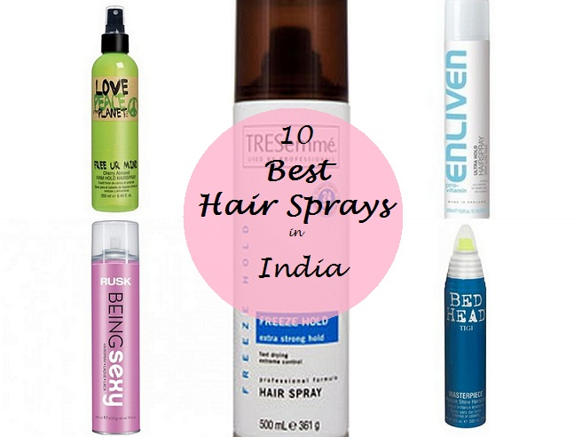 10 best hair sprays available in india