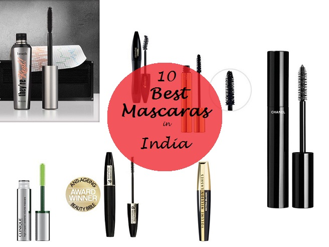 10 best mascaras available in india