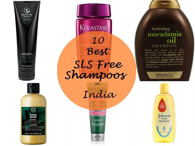 sodium lauryl sulfate sls free shampoo