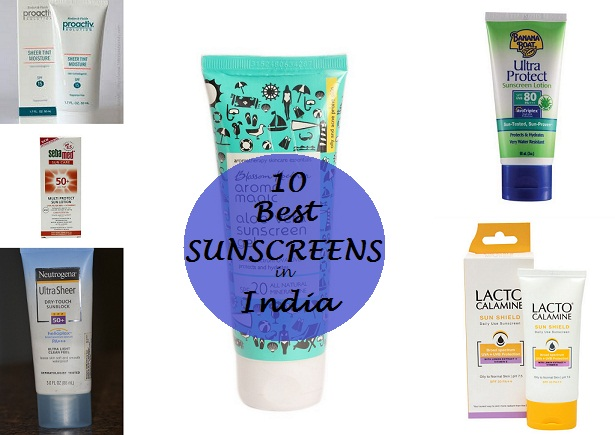 10 best sunscreens available in india