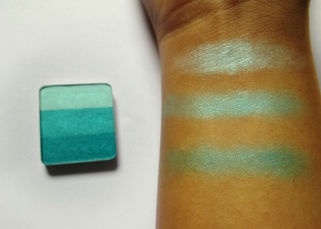 Inglot Freedom System Rainbow Eyeshadow 134 Review swatches