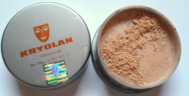 Kryolan translucent Powder review