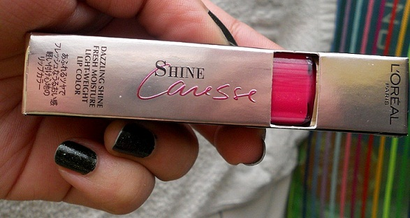 L'Oreal Paris Shine Caresse stain eve review swatches india