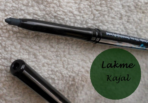 Lakme Eyeconic kajal green review blog