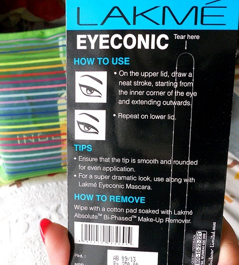 Lakme Eyeconic kajal green review