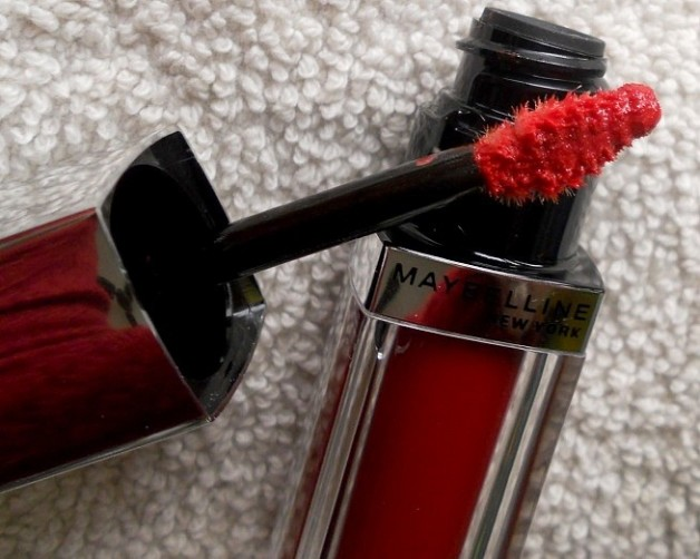 Maybelline lip polish glam12 review blog