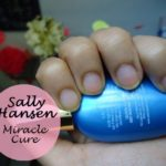 Sally Hansen Miracle Cure for Severe Problem Nails Review and Photos