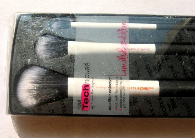 Real Techniques Duo Fiber Collection brush set review