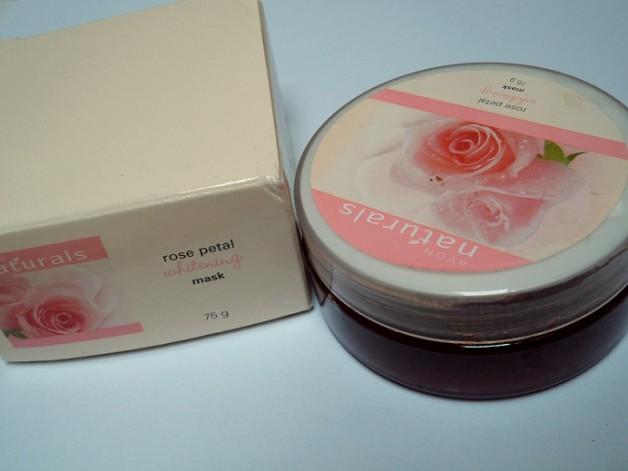 avon rose petals whitening mask review