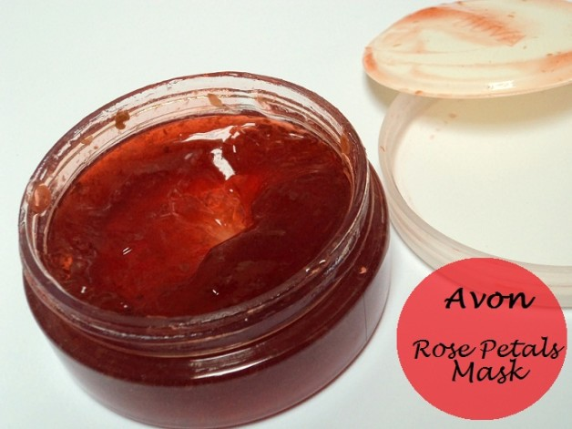 avon rose petals whitening mask review photo