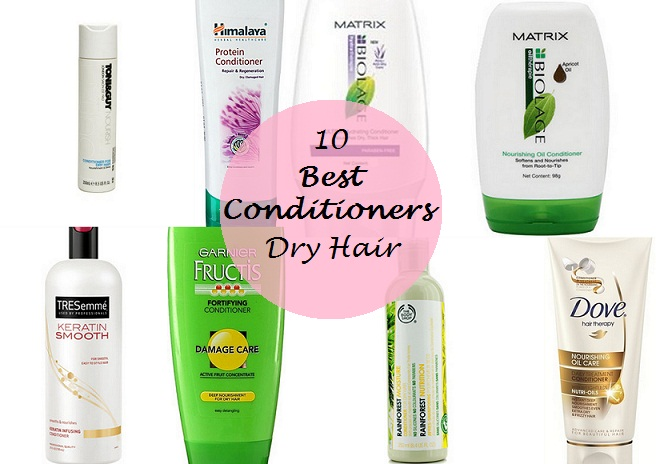 10 best conditioners for dry, frizzy and damaged hair in india