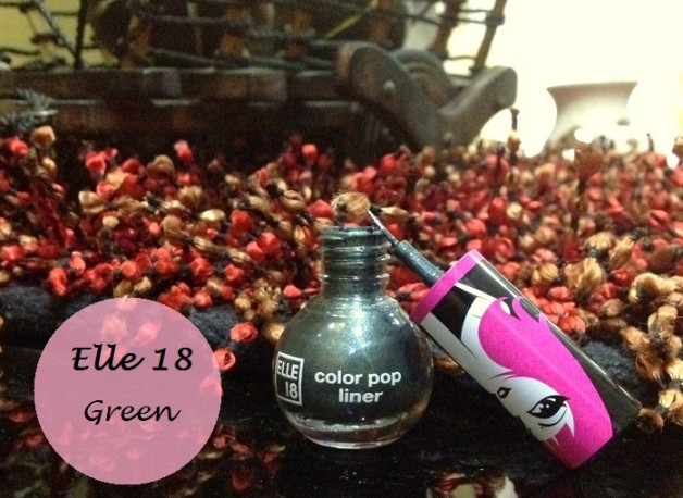 elle 18 color pop liner green review