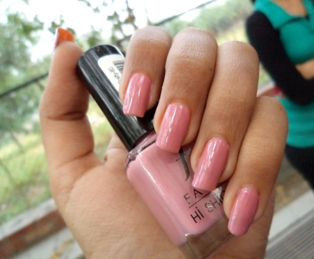 faces hi shine nail enamel pretty pretty 80 review blog