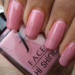 NOTD: Faces Hi-Shine Nail Enamel (80) Pretty Pretty