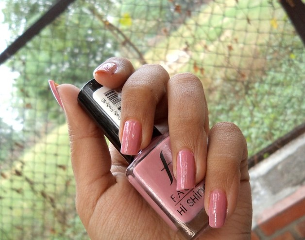 faces hi shine nail enamel pretty pretty review india