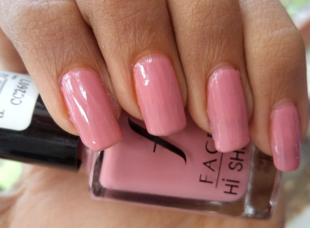 faces hi shine nail enamel pretty pretty swatches