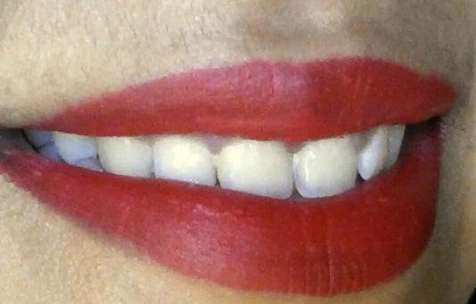 inglot matte lipstick 408 review lip swatch