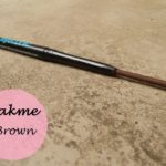 Lakme Eyeconic Kajal Brown: Review, Swatches and EOTD