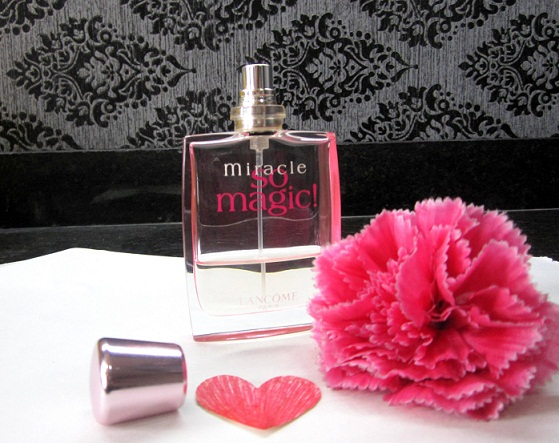 lancome miracle so magic perfume review blog