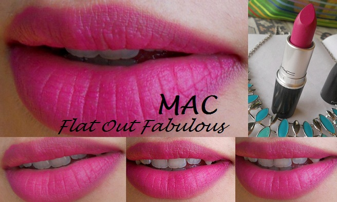 Mac Flat Out Fabulous Retro Matte Lipstick Review And