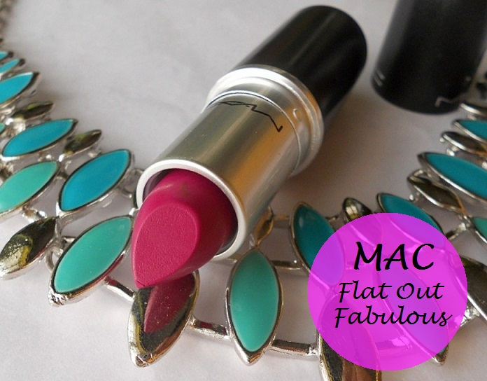 spesso MAC Flat Out Fabulous Retro Matte Lipstick: Review and Swatches WM37