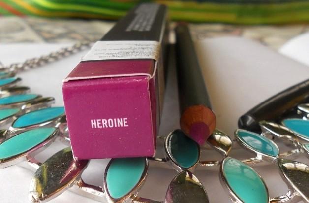 mac heroine lip pencil review
